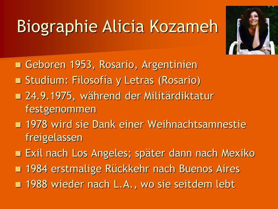 Biographie Alicia Kozameh