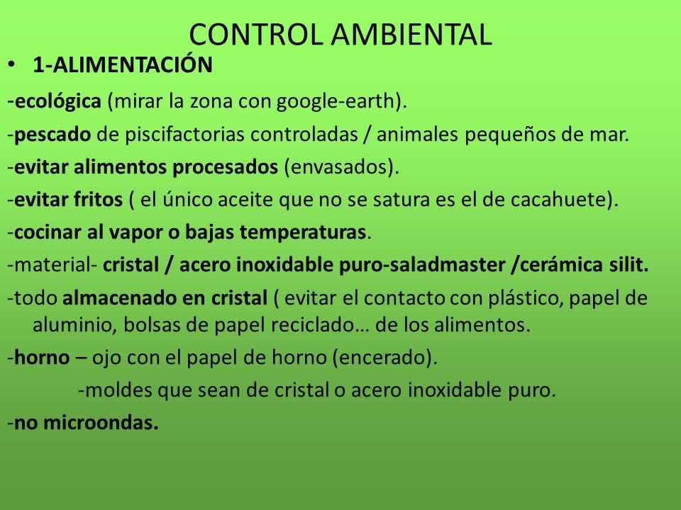 CONTROL AMBIENTAL 1-ALIMENTACIÓN