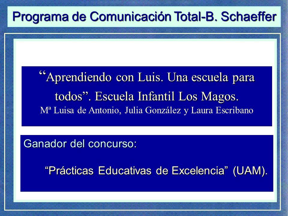 Programa de Comunicación Total-B. Schaeffer