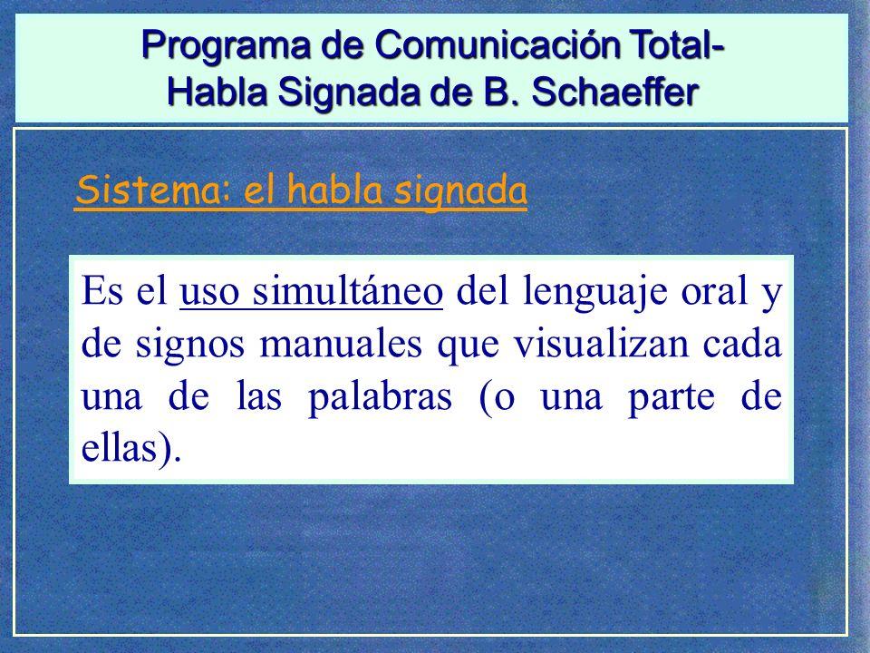 Programa de Comunicación Total-