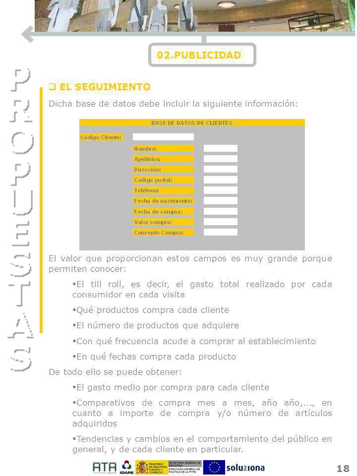 02.PUBLICIDAD EL SEGUIMIENTO