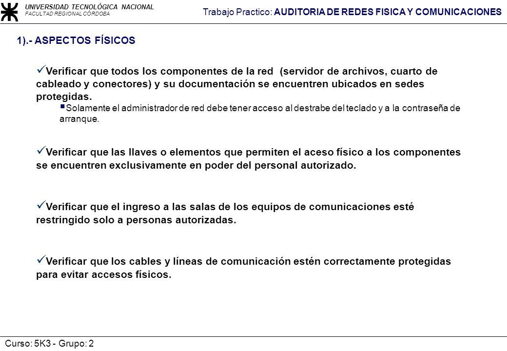 1).- ASPECTOS FÍSICOS