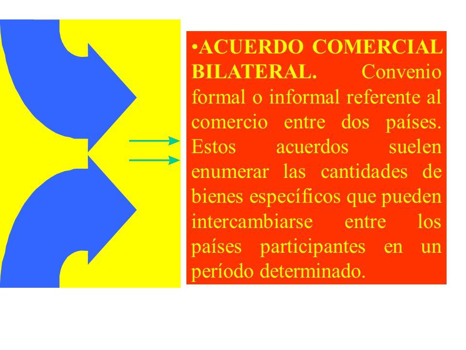 ACUERDO COMERCIAL BILATERAL