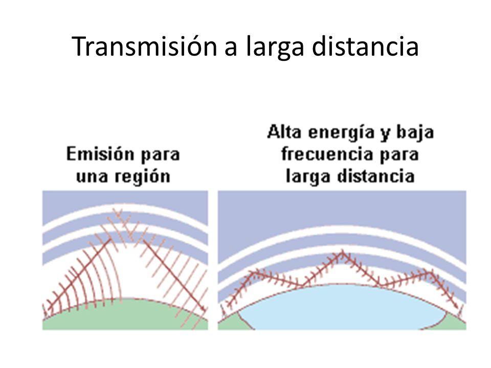 Transmisión a larga distancia