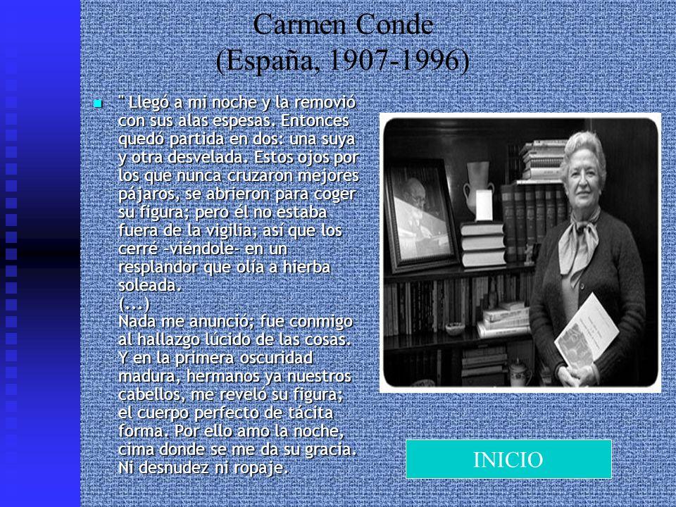Carmen Conde (España, 1907-1996)