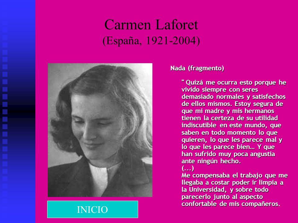 Carmen Laforet (España, 1921-2004)
