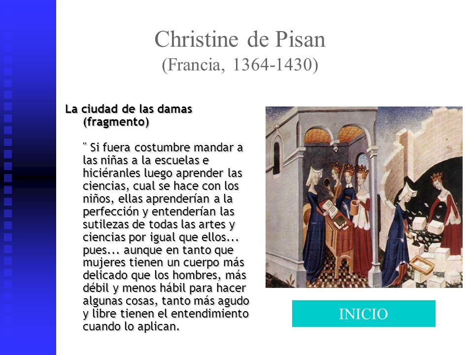 Christine de Pisan (Francia, 1364-1430)