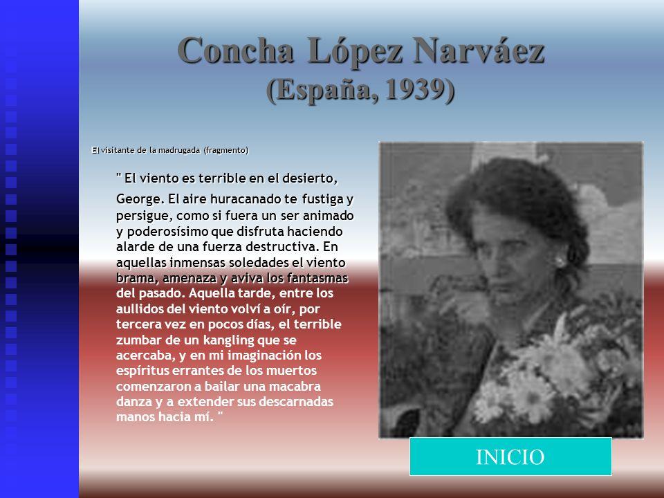 Concha López Narváez (España, 1939)