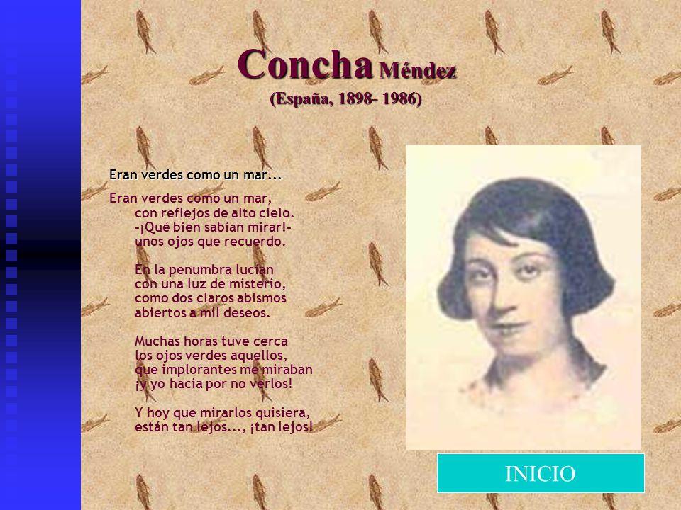 Concha Méndez (España, 1898- 1986)