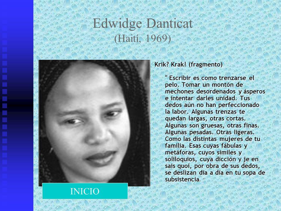 Edwidge Danticat (Haití, 1969)