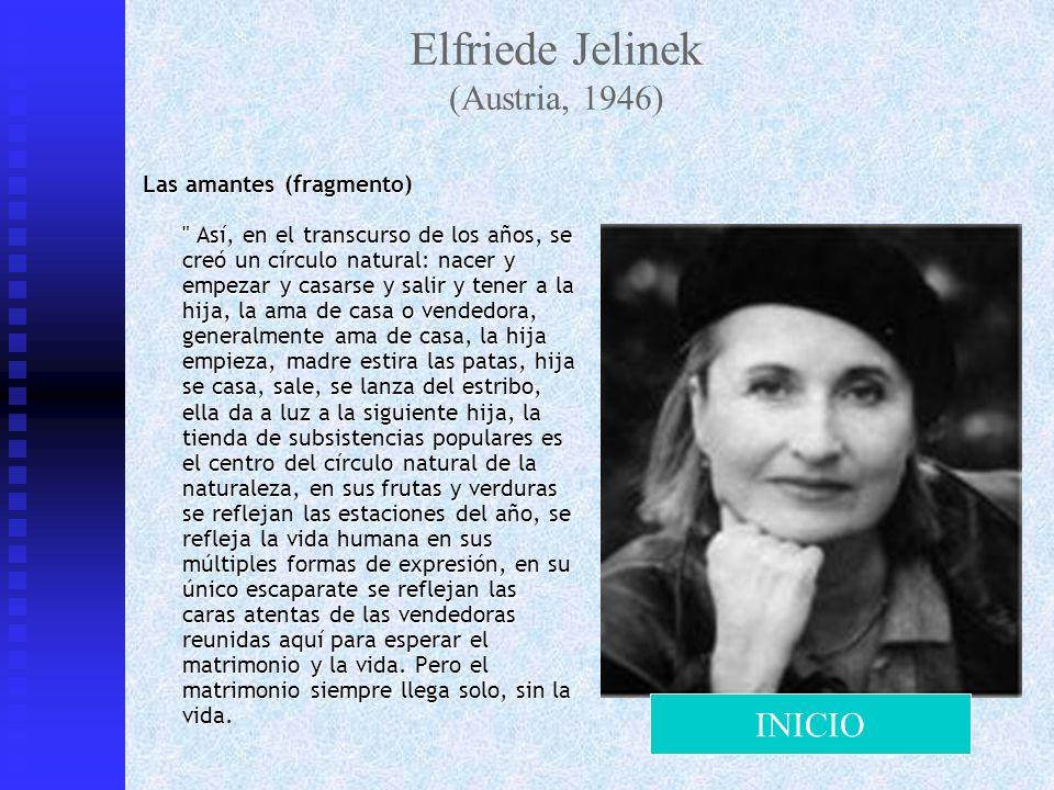 Elfriede Jelinek (Austria, 1946)