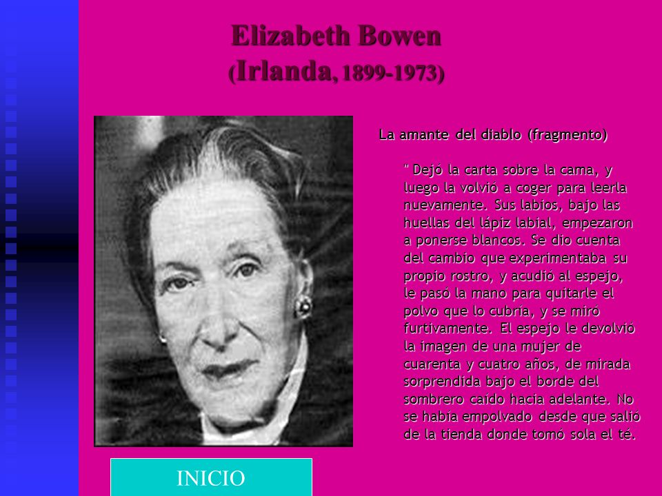 Elizabeth Bowen (Irlanda, 1899-1973)