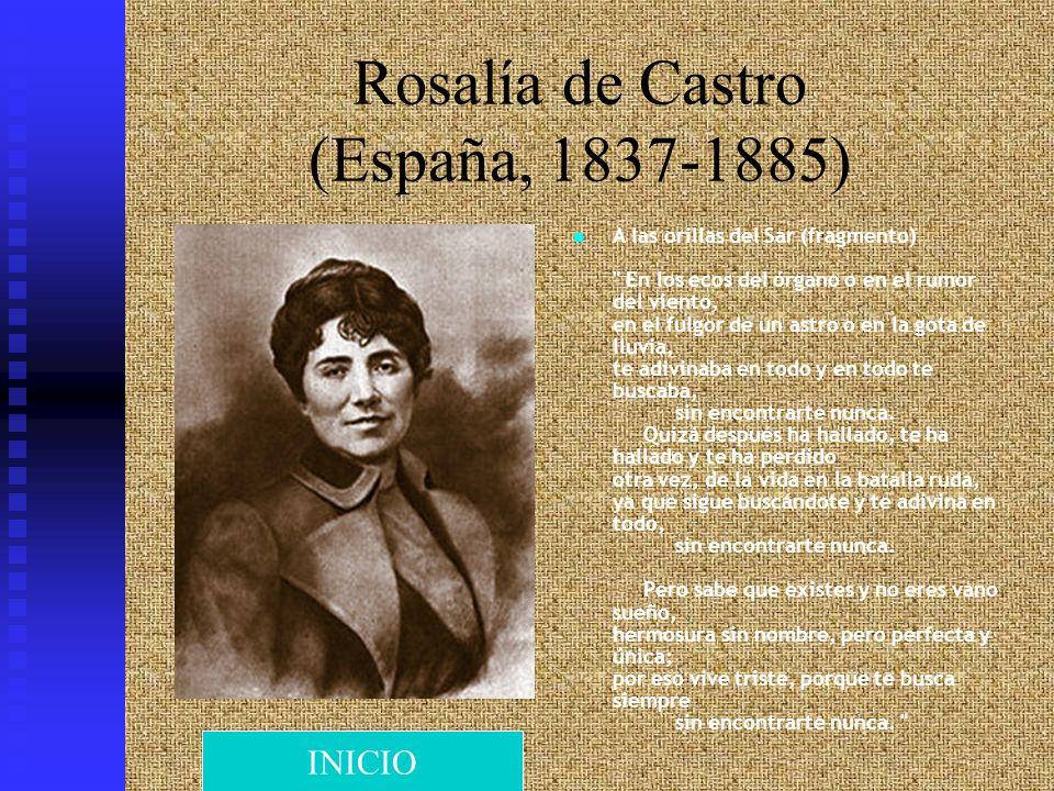Rosalía de Castro (España, 1837-1885)