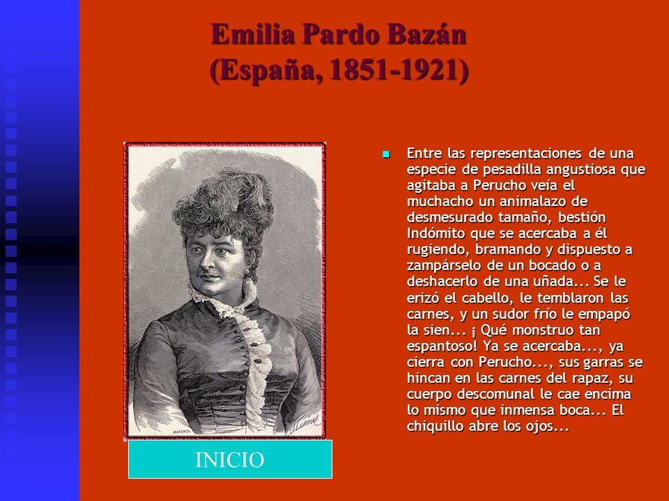 Emilia Pardo Bazán (España, 1851-1921)