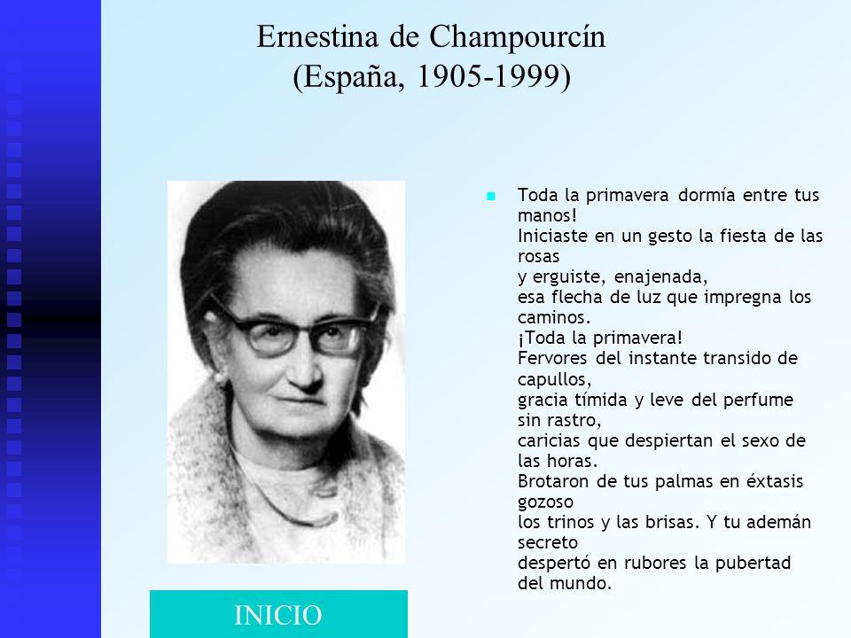 Ernestina de Champourcín (España, 1905-1999)