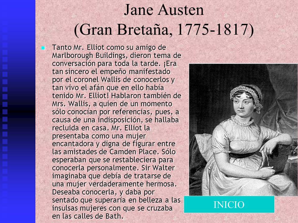 Jane Austen (Gran Bretaña, 1775-1817)