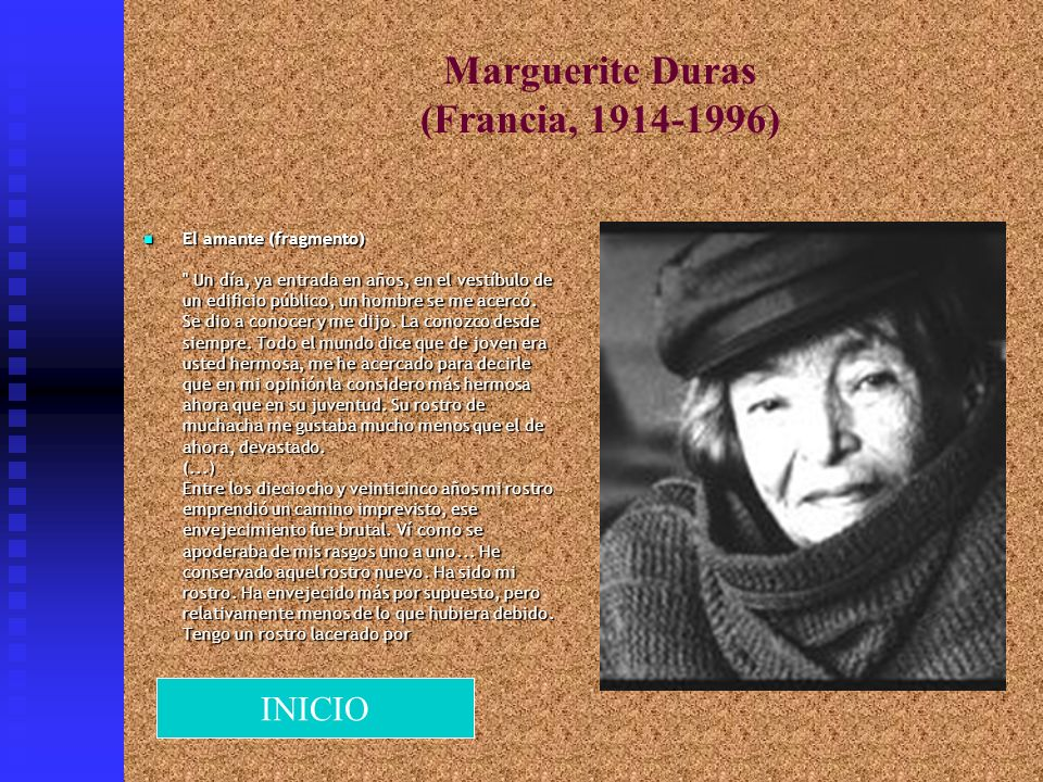 Marguerite Duras (Francia, 1914-1996)