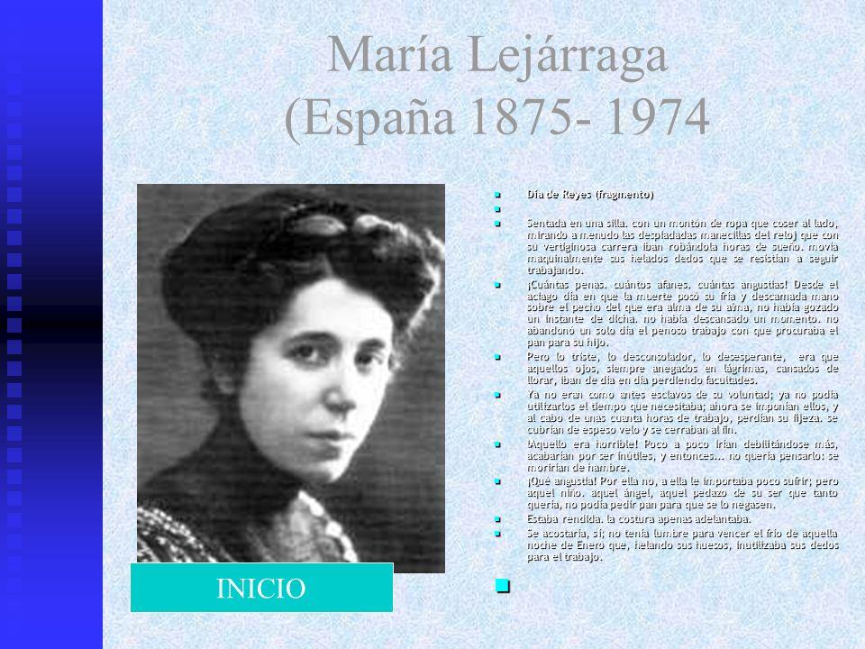 María Lejárraga (España 1875- 1974