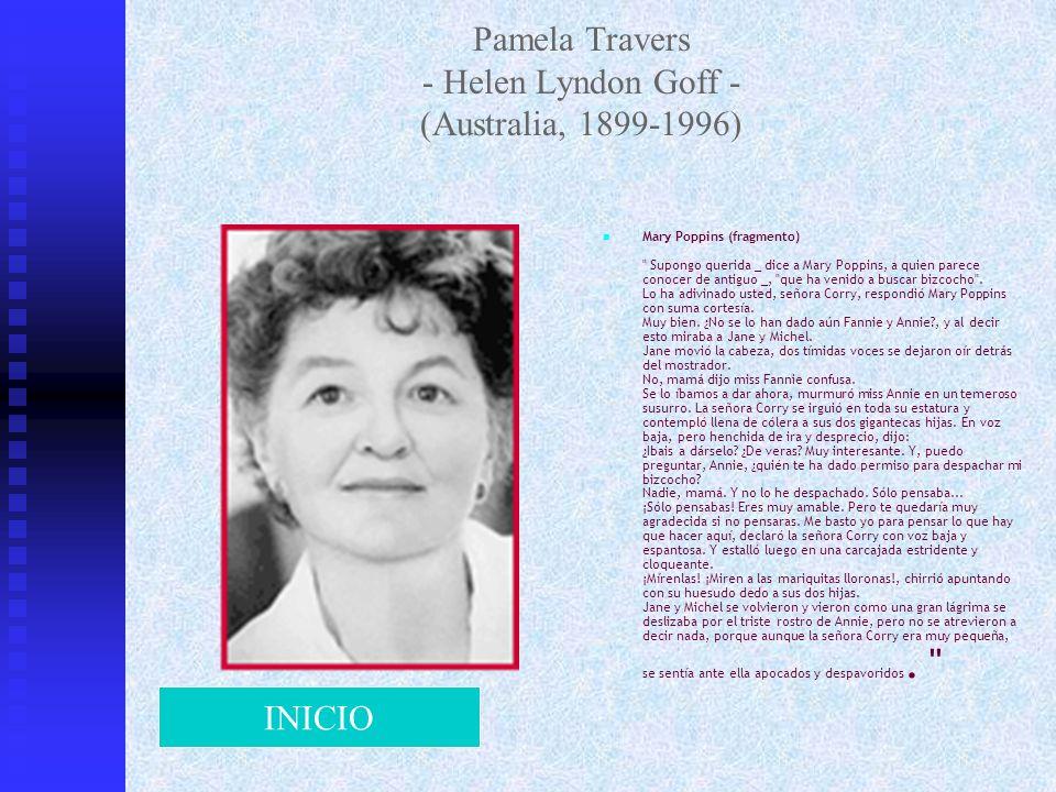 Pamela Travers - Helen Lyndon Goff - (Australia, 1899-1996)