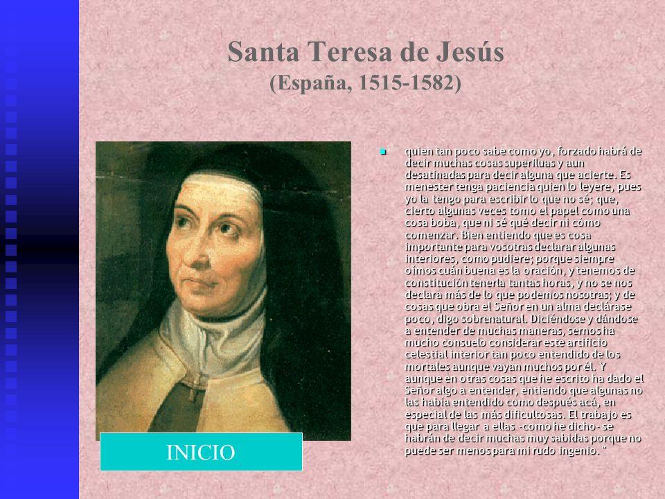 Santa Teresa de Jesús (España, 1515-1582)