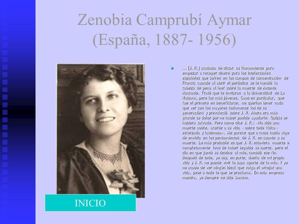 Zenobia Camprubí Aymar (España, 1887- 1956)