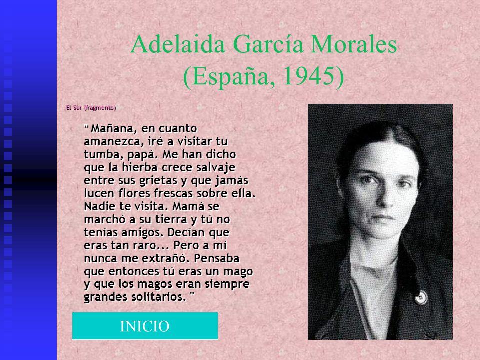 Adelaida García Morales (España, 1945)