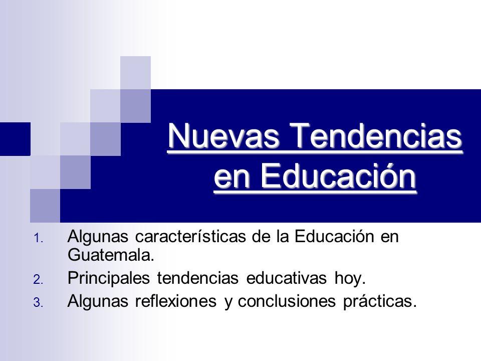 Nuevas Tendencias en Educación