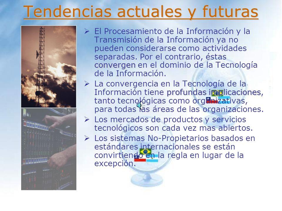 Tendencias actuales y futuras