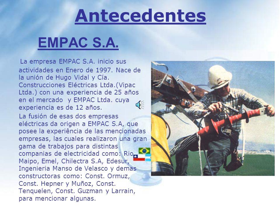 Antecedentes EMPAC S.A.