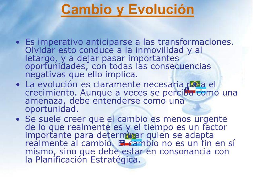 Cambio y Evolución