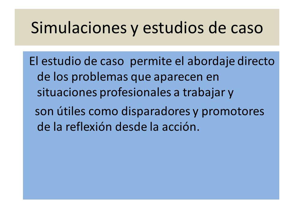 Simulaciones y estudios de caso