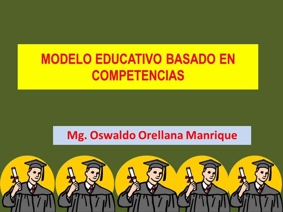 MODELO EDUCATIVO BASADO EN COMPETENCIAS