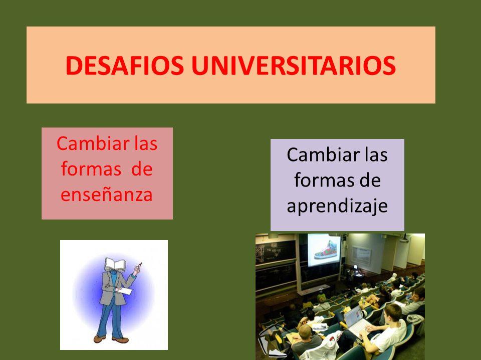 DESAFIOS UNIVERSITARIOS