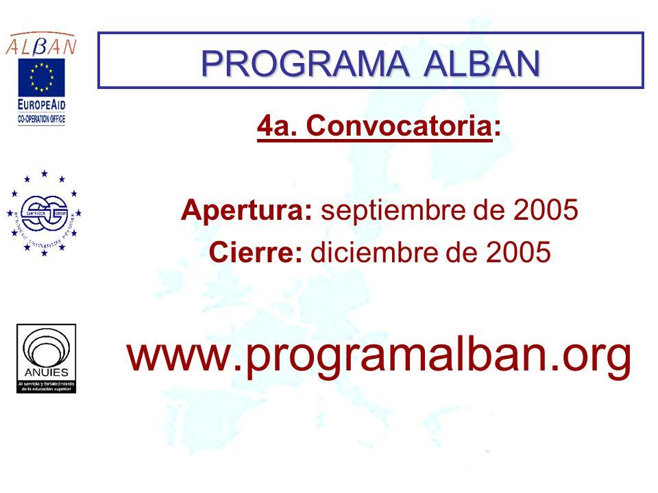 Apertura: septiembre de 2005