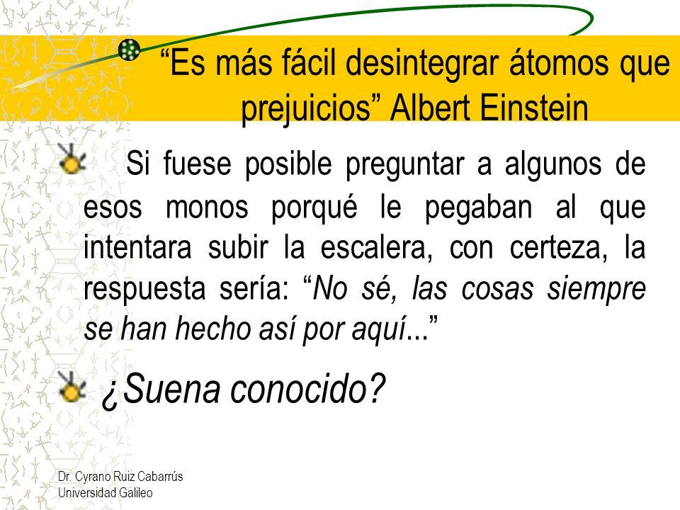 Es más fácil desintegrar átomos que prejuicios Albert Einstein