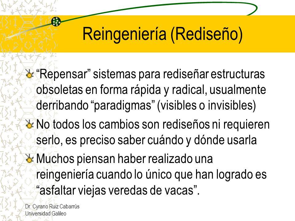 Reingeniería (Rediseño)