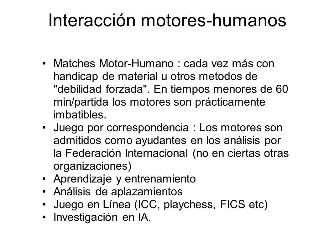 Interacción motores-humanos