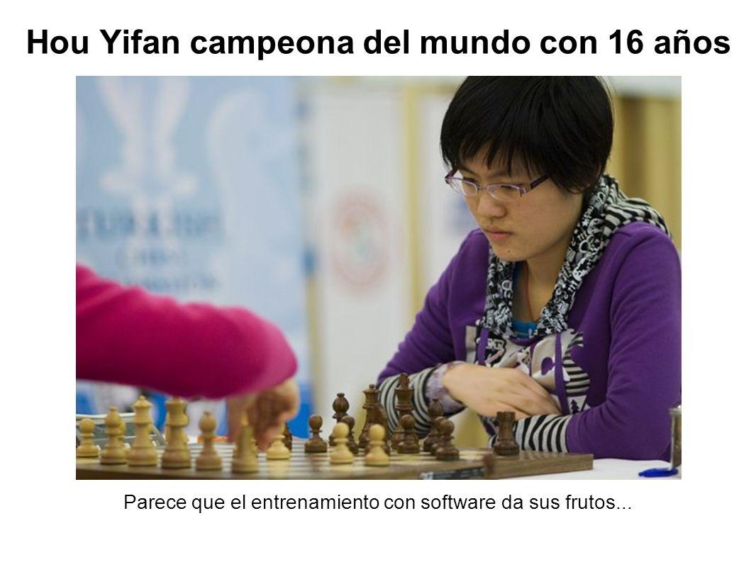 Hou Yifan campeona del mundo con 16 años