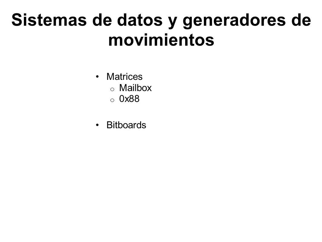 Sistemas de datos y generadores de movimientos