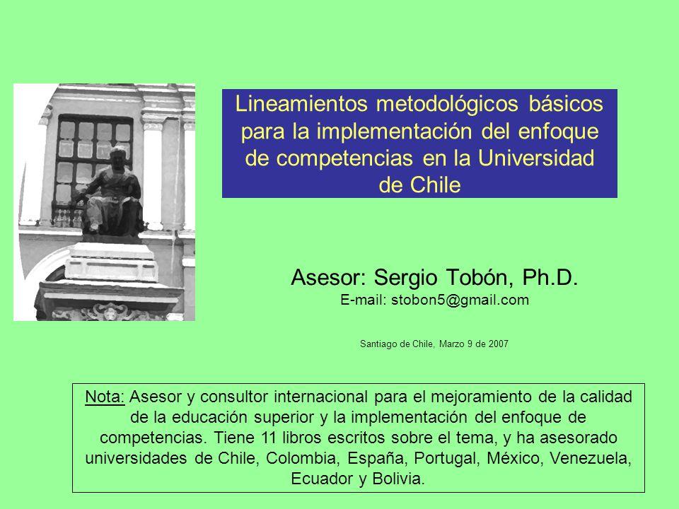 Asesor: Sergio Tobón, Ph.D.