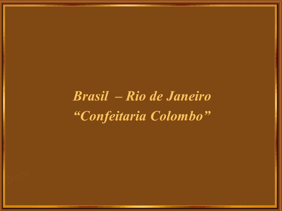 Brasil – Rio de Janeiro Confeitaria Colombo