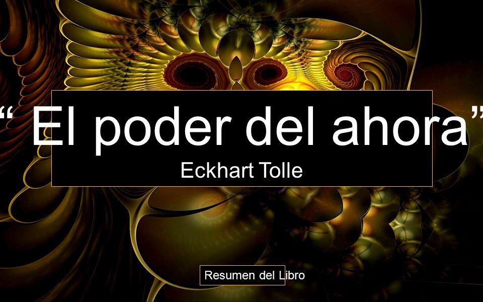 DESCARGA Libro PDF El Poder Del Ahora Eckhart Tolle Libros