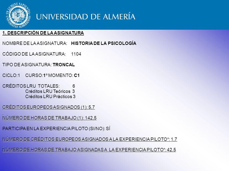 GUÍA DE LA TITULACIÓN DE PSICOLOGÍA