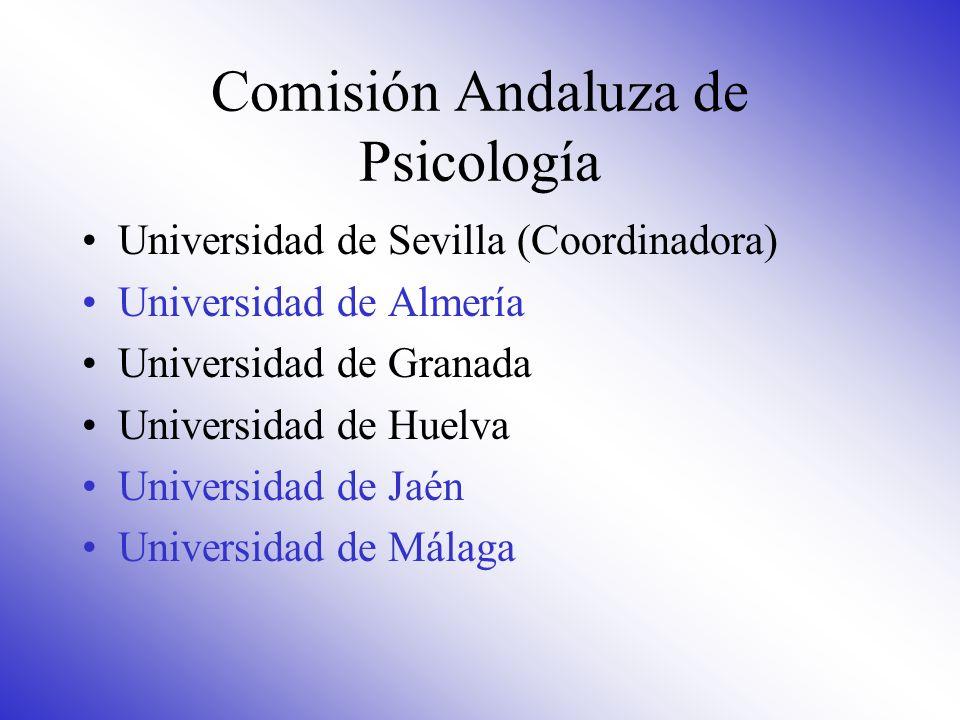 Comisión Andaluza de Psicología