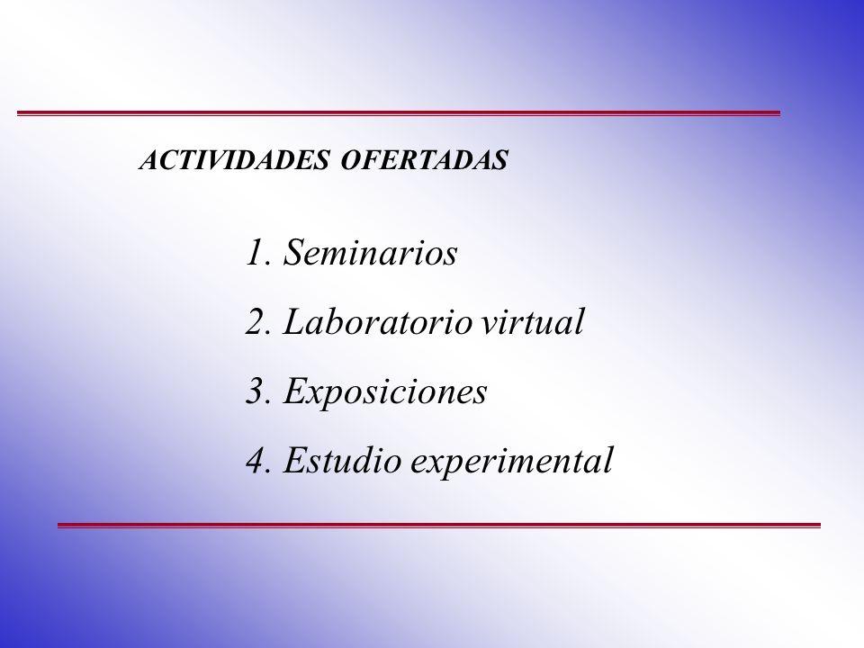 ACTIVIDADES OFERTADAS