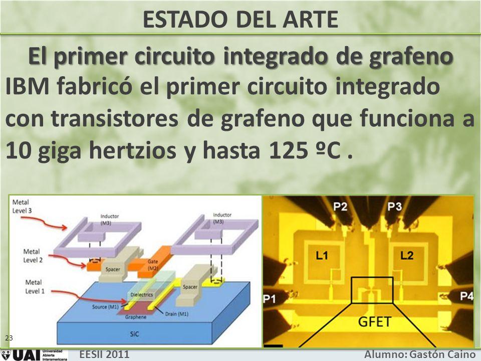 El primer circuito integrado de grafeno