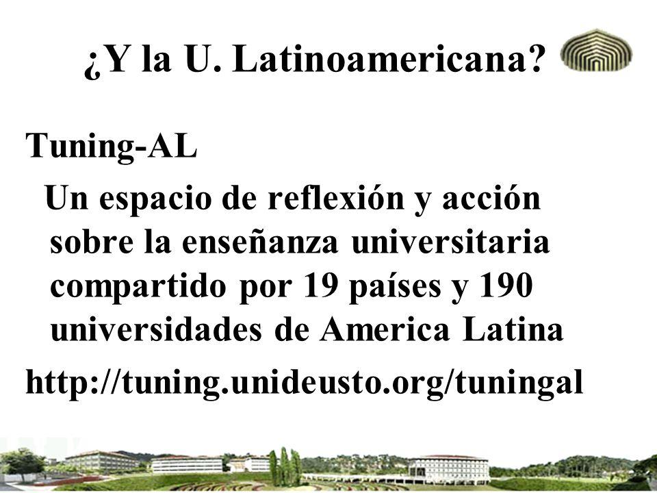 ¿Y la U. Latinoamericana
