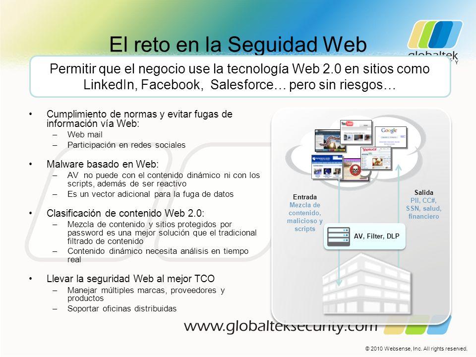 El reto en la Seguidad Web