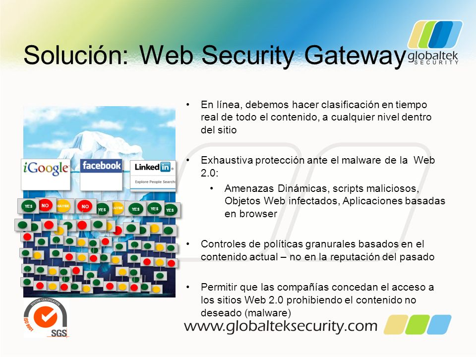 Solución: Web Security Gateway