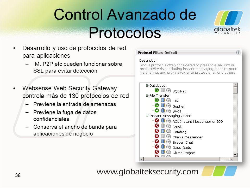 Control Avanzado de Protocolos